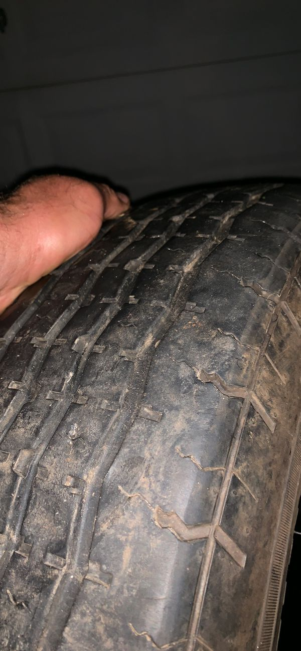 225 75 15 trailer tire one single
