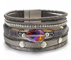 Multilayer Wrap, Wide Trendy Bracelet for Sale in Wichita, KS