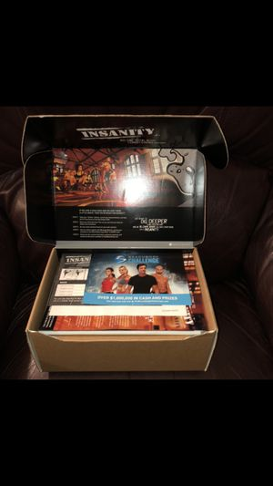 60 day insanity workout set for Sale in Sunnyvale, CA