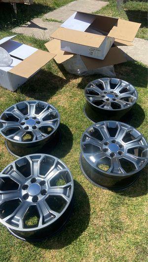 "20"" tahoe silverado wheels for Sale in Chula Vista, CA"