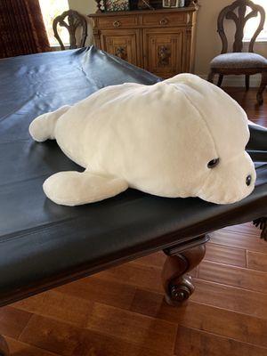 "Sea World White Beluga Whale 24"" stuffed animal for Sale in Las Vegas, NV"