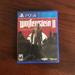 PS4 Wolfenstein 2 the new colossus for Sale in Bartow,  FL