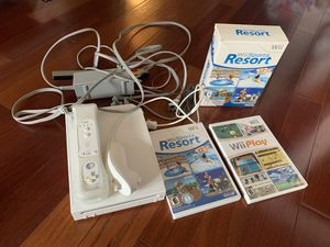 Nintendo Wii, includes games and sports pack for Sale in Beverly Hills, CA