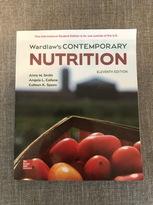 Wardlaw's Contemporary Nutrition for Sale in Enumclaw, WA