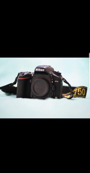 Nikon D750 With Lenses for Sale in Carol Stream, IL
