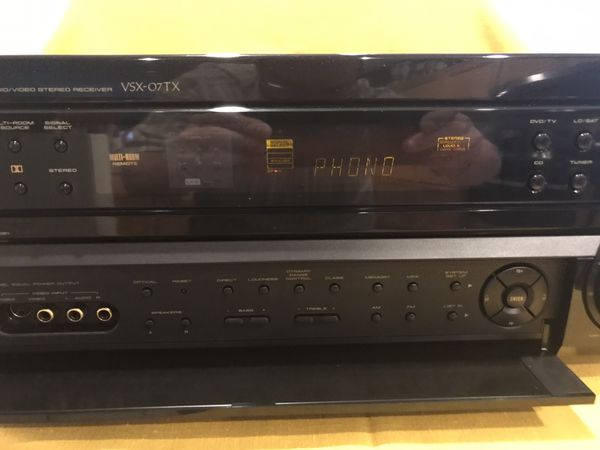 PIONEER ELITE VSX-07TX AVR NO HDMI, IN EXCELLENT SHAPE (PLEASE READ)