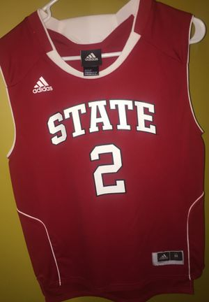Adidas N.C. State Basketball Jersey for Sale in Garner, NC