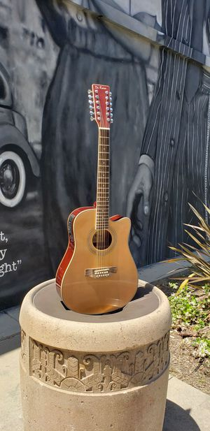 New 12 String Requinto Cutaway Acoustic-Electric Thin Body Guitar Natural for Sale in Bell Gardens, CA