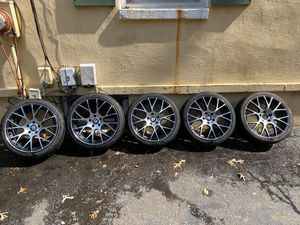 (5) 18 inch wheels and tires for Sale in CT, US