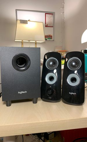 Logitech speakers + Subwoofer for Sale in Chicago, IL