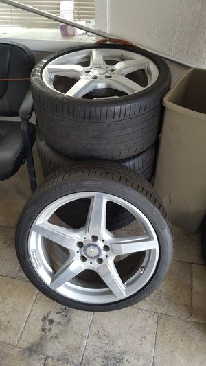 Original AMG Wheels and tires for Mercedes-Benz CLS 500 for Sale in Hayward, CA