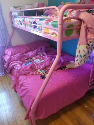 Bunk bed (frame only) Like new. -Free for Sale in IND HILLSIDE, NJ