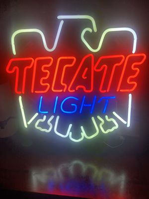 """Brand New Tecate Light Neon Sign 24""""x24"""" for Sale in Niles, IL"""