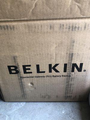 belkin residential gateway (rg) battery backup for Sale in San Diego, CA