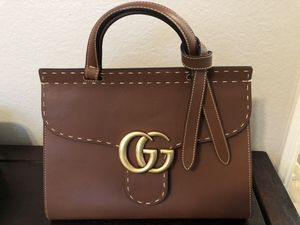 Beautiful brown gucci bag. Very good condition. I've owned for about 3 years. 11 inches long. You will love it. for Sale in Wildomar, CA