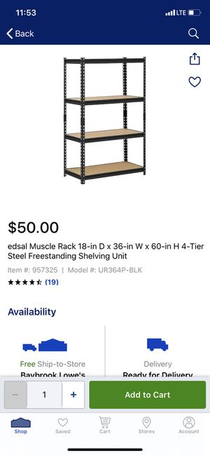 Shelves for Sale in Houston, TX