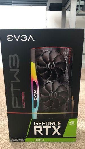 EVGA RTX 3090 FTW3 Ultra for Sale in Menifee, CA