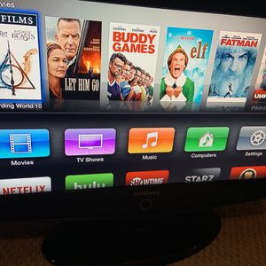 32 Inch Samsung Tv With Apple Tv for Sale in Germantown, MD