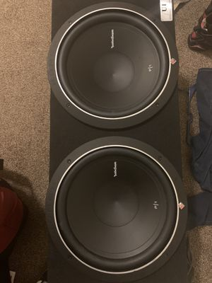 Subs with amp for Sale in Aurora, CO