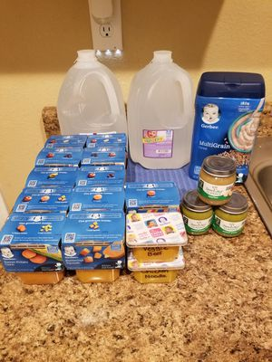 Free Baby food for Sale in North Las Vegas, NV