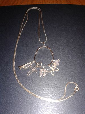 Gold Charm Necklace for Sale in Rainier, WA