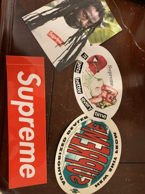 Supreme stickers for Sale in Strongsville, OH