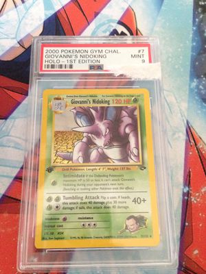 Pokemon Cards First Edition Nidoking for Sale in Santa Ana, CA