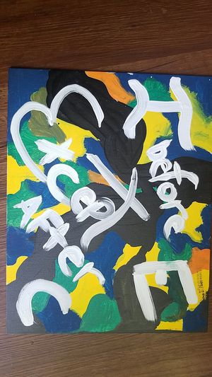 "Childrens ""I Before Except after C"" canvas for Sale in Stuarts Draft, VA"