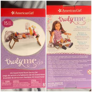 NEW American Girl Doll Room Service Set for Sale in Lafayette, CA