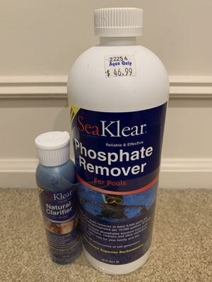 Not opened SeaKlear Phosphate Remover and Natural Clarifier for Sale in Woodinville, WA