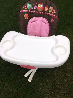Kid girl toddler high chair for Sale in Aurora, IL
