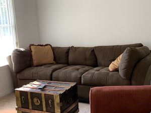 Suede Sofa for Sale in Navarre, FL