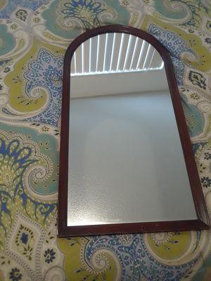 Antique, Oak wood framed mirror for Sale in San Luis Obispo, CA