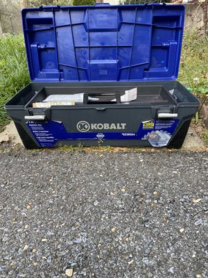 Kobalt 26 Inch Tool/Hammer Box for Sale in Fort Washington, MD