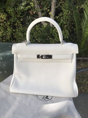 Hermes Kelly bag white for Sale in Los Angeles, CA