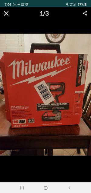 Milwaukee impact gun for Sale in San Pedro, CA