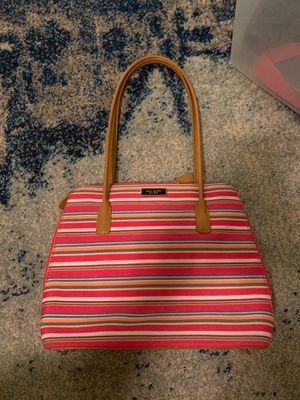 Pink taped Kate spade purse PERFECT CONDITION for Sale in Salt Lake City, UT