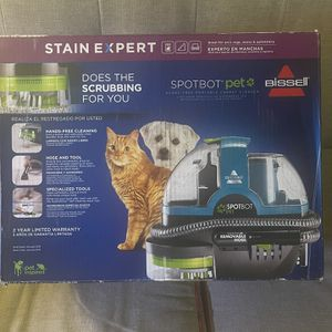 Spotbot Pet Bissell Carpet Stain Cleaner for Sale in Indianapolis, IN