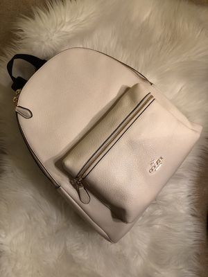 Coach Cream Backpack for Sale in Baltimore, MD