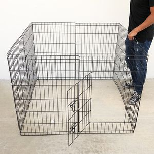 """Brand New $40 Foldable 36"""" Tall x 24"""" Wide x 8-Panel Pet Playpen Dog Crate Metal Fence Exercise Cage for Sale in Pico Rivera, CA"""