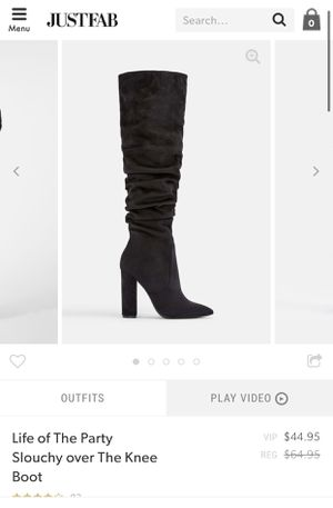 Just fab thigh highs for Sale in Arlington, TX