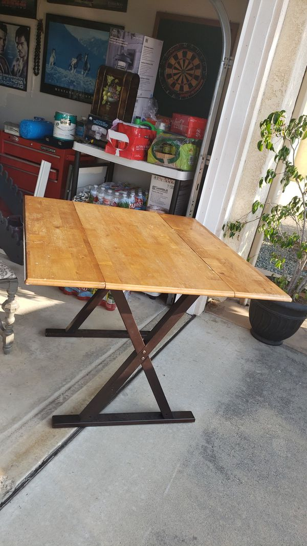 Adjustable Extendable kitchen Table