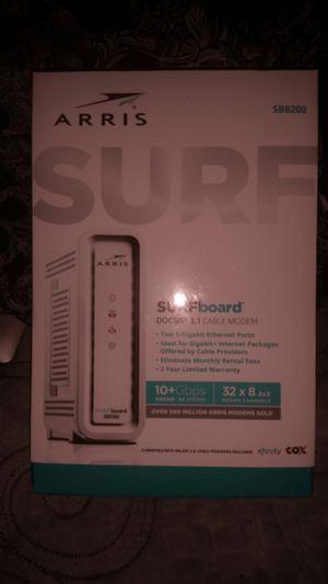 ARRIS Surf board cable modem for Sale in Glendale, AZ