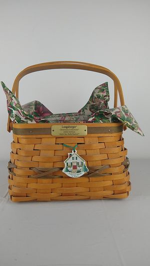 Longaberger Christmas Collection 2000 Edition Deck The Halls Basket for Sale in Alhambra, CA