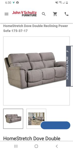 HomeStretch Sofa- gray for Sale in Erie, PA