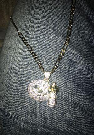 Drunk necklaces 14k for Sale in Springfield, VA