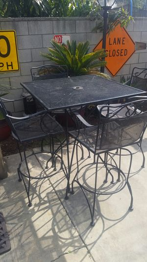 Iron patio furniture for Sale in West Covina, CA