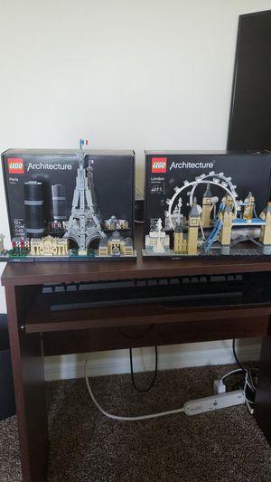Lego architecture paris and London for Sale in Cocoa, FL