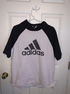 Adidas T-Shirt Hoodie - Medium for Sale in Leesburg, VA