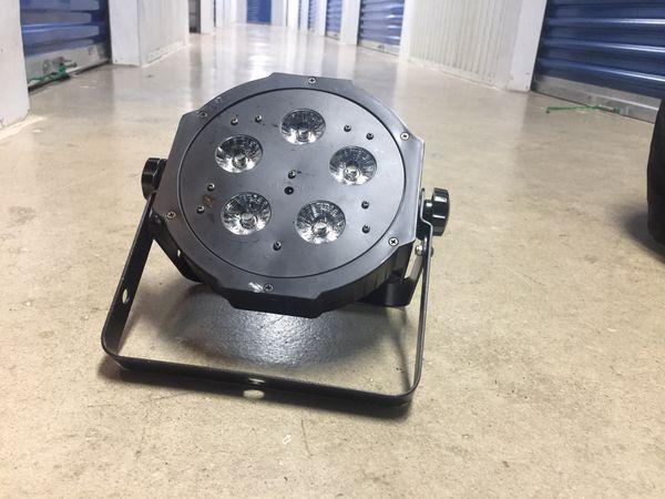 ADJ Mega Tri Par Plus LED 4 pack